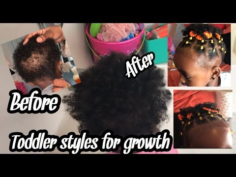 Easy Protective Hairstyle For Short Hair Black Kids Toddler