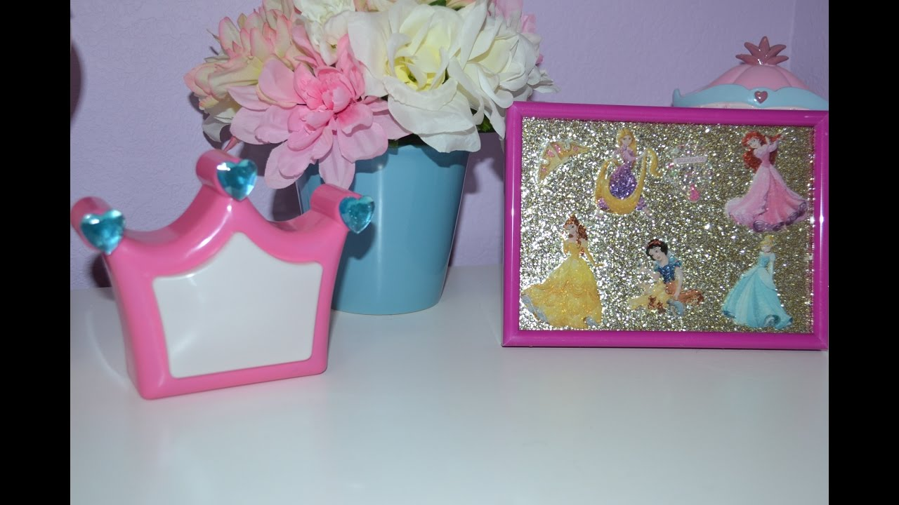 Diy decoraciones de princesas para cuarto de ni as for Cuartos de princesas