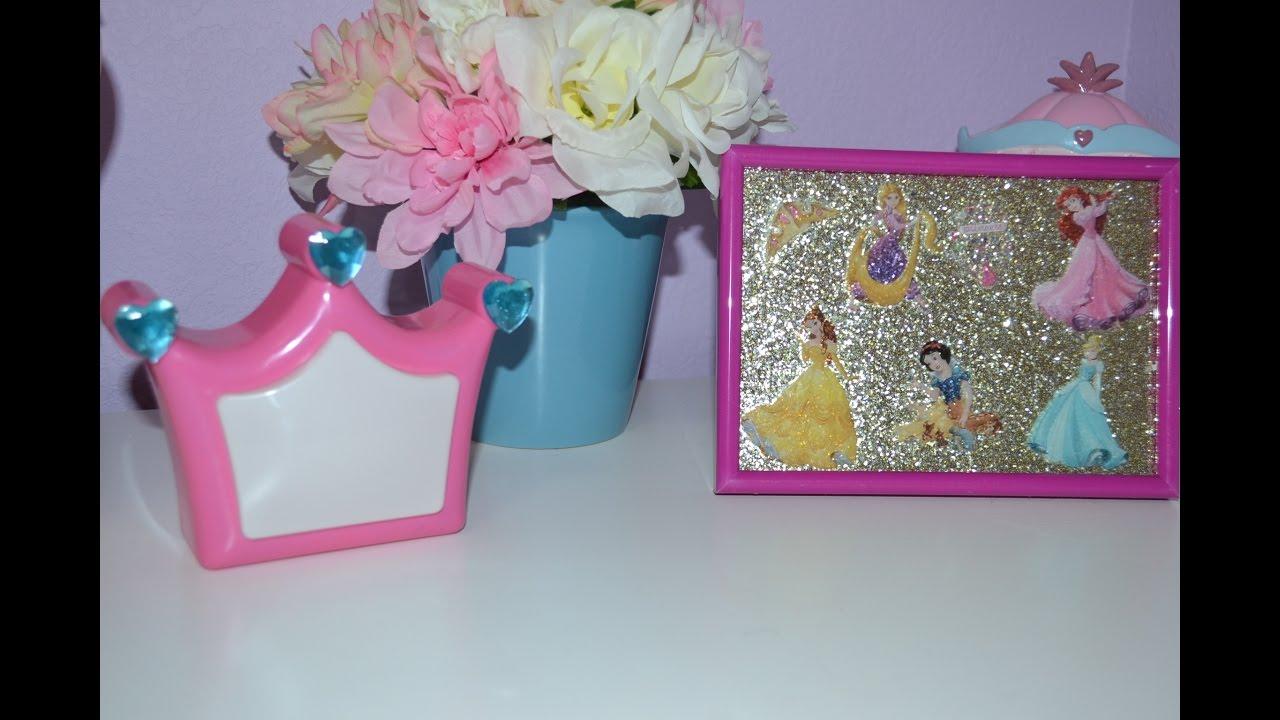 Diy decoraciones de princesas para cuarto de ni as Decoraciones para ninas