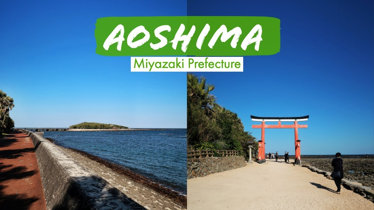 The MOST POPULAR ISLAND in MIYAZAKI | Aoshima, Miyazaki - YouTube