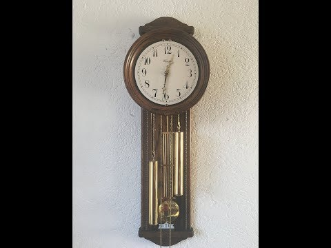2 Weight Wall Clock Made By Dutch Warmink Wuba From 80's By Din973 (B06)