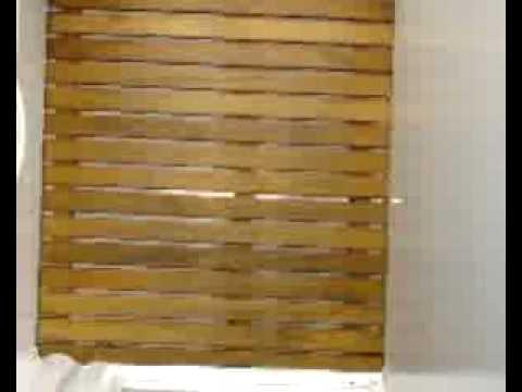 Deck para ducha en madera 68 youtube for Revestimiento de paredes para duchas