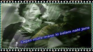 Lagan mure mann ki balam nahi jane 💔 Babul 1950 💔 Türkçe Altyazılı HD 720p