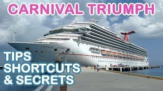 Carnival Triumph: Top 10 Tips, Shortcuts, and Secrets