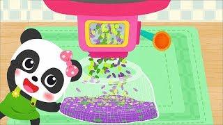 Baby Panda's Fashion Flower DIY & Make juice - Fun Kids Game