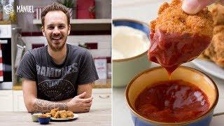 NUGGETS DI POLLO FATTI IN CASA (Crocchette di pollo come quelle del fast food!)