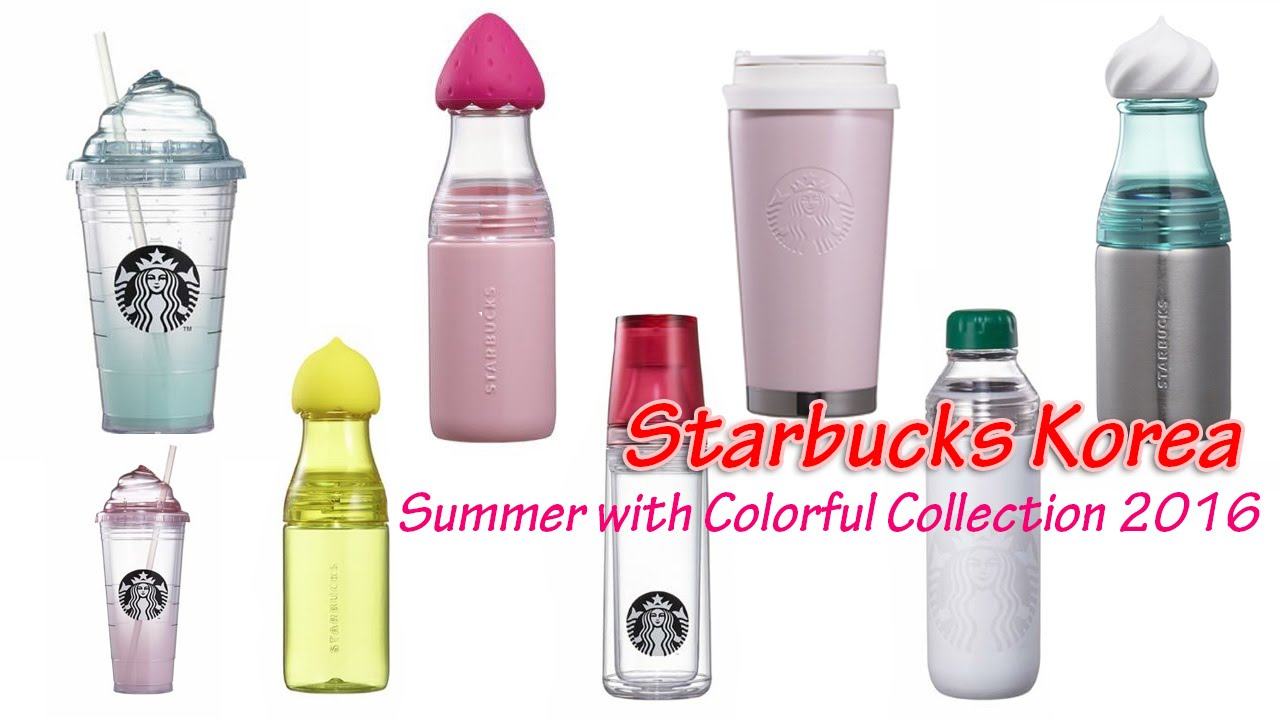 Korea Starbucks 2016 SS Siren Pink Elma Tumbler 473ml