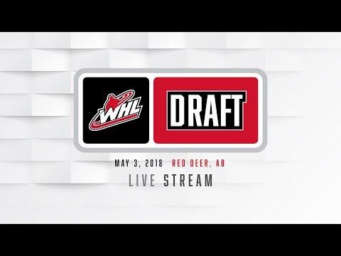 LIVE || 2018 WHL DRAFT || Red Deer, AB