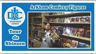 El Tour de Shinzen- Arkham, cómics y figuras.