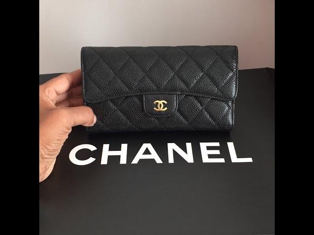 3c78ae152985cb CHANEL Flap Wallet - YouTube