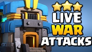 🔴 LIVE War Attacks | Clash of Clans