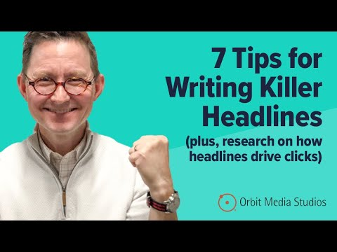 Create stronger headlines for emails, SEO, social media, and video