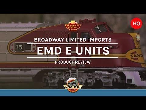 HO Scale Broadway Limited Imports EMD E6, E7 and E8