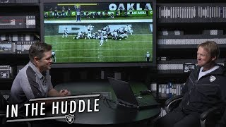 Jon Gruden Analyzes Aaron Rodgers' Playmaking & More | In the Huddle | Raiders