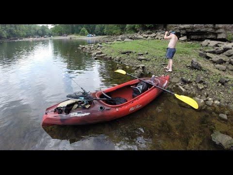 Vapor 10 Angler Kayak Review By OldTown