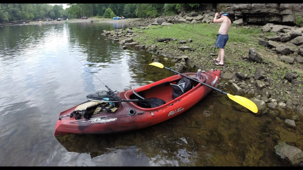 Vapor 10 Angler Kayak Review By OldTown - YouTube