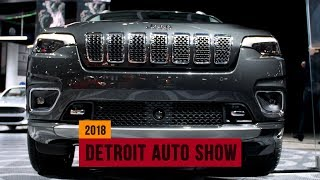2019 Jeep Cherokee shows a prettier face in Detroit