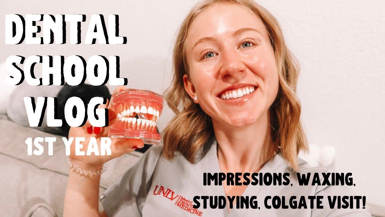 Dental School Vlog | How I Study, Impressions, and More!
