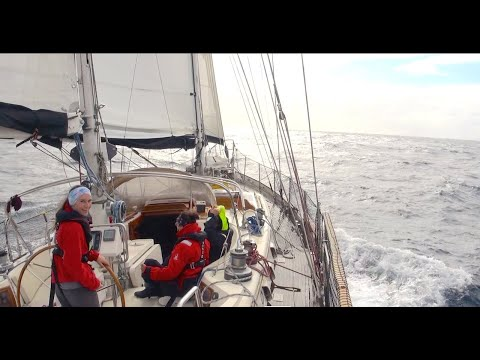 Part 1: Atlantic 2020/2021 - Leaving the north sea in stormy conditions