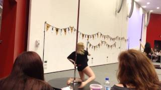 Inter-Uni Pole Dance Competition 2014- 3rd Place Beginner- Robyn
