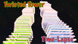 Minecraft Time-Lapse: Twisted Tower
