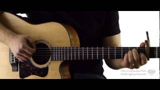 Diamond Rings & Old Bar Stools - Guitar Lesson And Tutorial - Tim Mcgraw