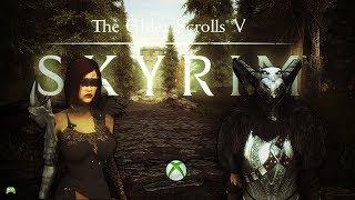 skyrim special edition Gotha + Dark Huntress Armor Mods Xbox [HD]