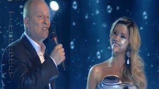 Alketa Vejsiu & Babai i saj - X Factor Albania - Tombe la neige