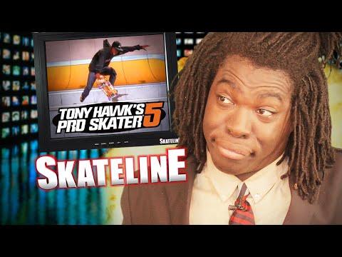 SKATELINE - Tony Hawk Pro Skater 5, Brian Peacock, Silas Vs Gravity,  Pointed Backside Flip & more