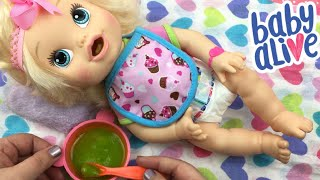 BABY ALIVE My Baby All Gone Doll Feeding and Changing
