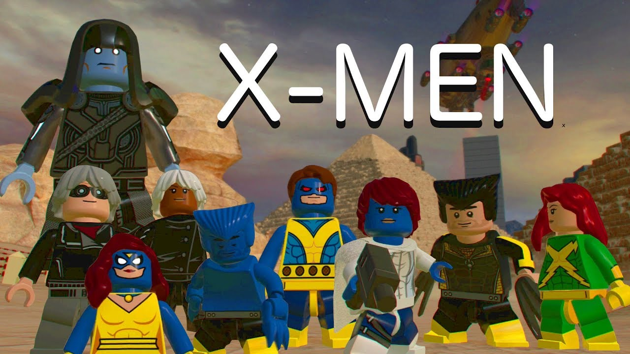LEGO Marvel Superheroes 2: X-Men Custom Characters!! - YouTube