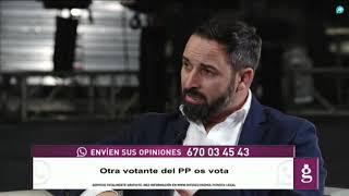 Santiago Abascal a Carmena: 'Eres una sinvergüenza'