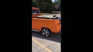 "1966 Ford Econoline Pickup- ""The Screaming Pumpkin"""