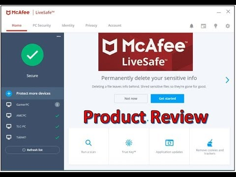 McAfee LiveSafe PC Security Review