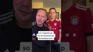 Teaching my son ab๐ut our German heritage