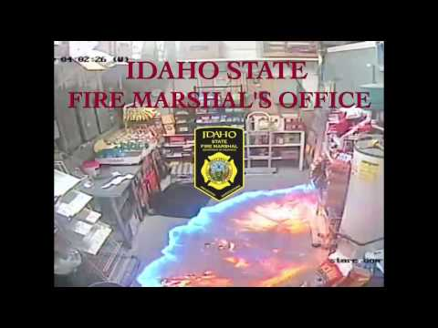 Propane Fire - Close Call (Idaho State Fire Marshal's Office)