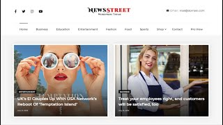 How To Setup NewsStreet Free WordPress Theme