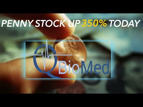 Why This Small-Cap Biomedical Company Is Up Over 350% Today - Hot Penny Stocks QBIO