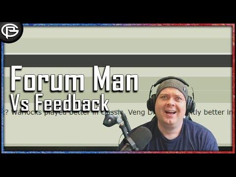 Forum Man vs