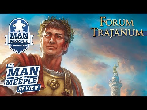 Forum Trajanum Review by Man Vs Meeple (Stronghold Games)