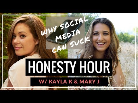Why Social Media Can SUCK! Facebook LIVE Replay - Honesty Hour w/ Mary J