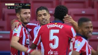 Dva Gola Luisa Suareza na Debiju za Atletiko Madrid   SPORT KLUB FUDBAL