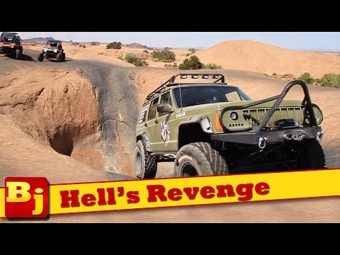 Hell's Revenge Trail in the Hope Floats Jeep