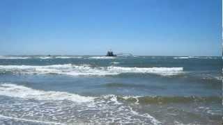 Holden Beach NC - Ocean Waves - Beaches, Fishing, Sailing