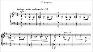 Gabriel Fauré - 8 Pièces brèves Op. 84