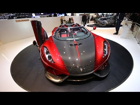The $2.4 Million Pagani Huayra Roadster ft. Koenigsegg Regera & Agera RS
