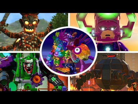 All Giant Bosses In LEGO Videogames