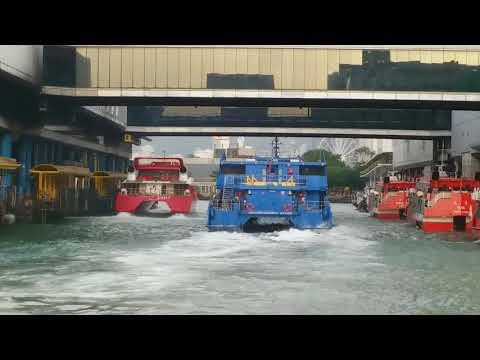 Cotaijet Austal 47.5m M.V. Cotai Strip Cotaiarena berths Macau Ferry Terminal HK no.4