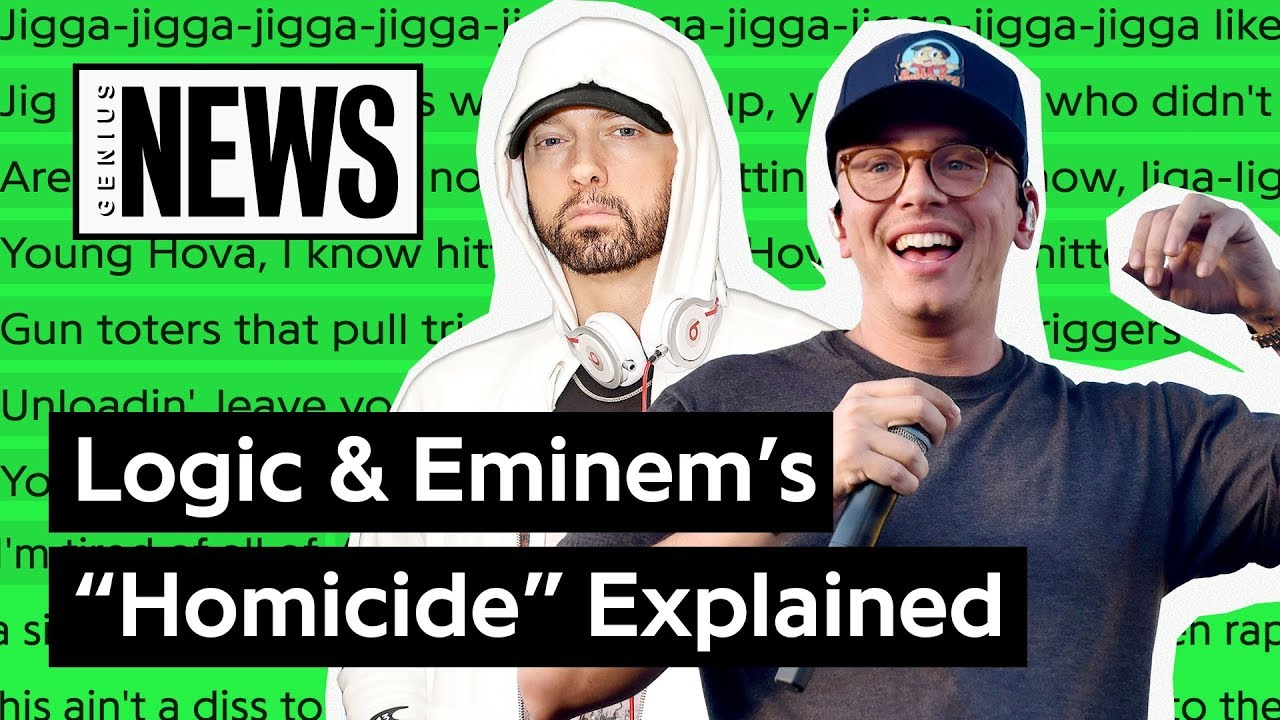 Logic and Eminem - Homicide Lyrics | LyricsFa