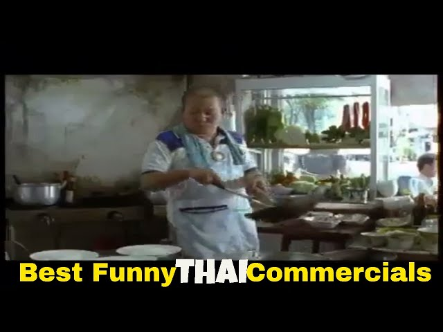 Thai funny commercial: When your hungry [part 9]